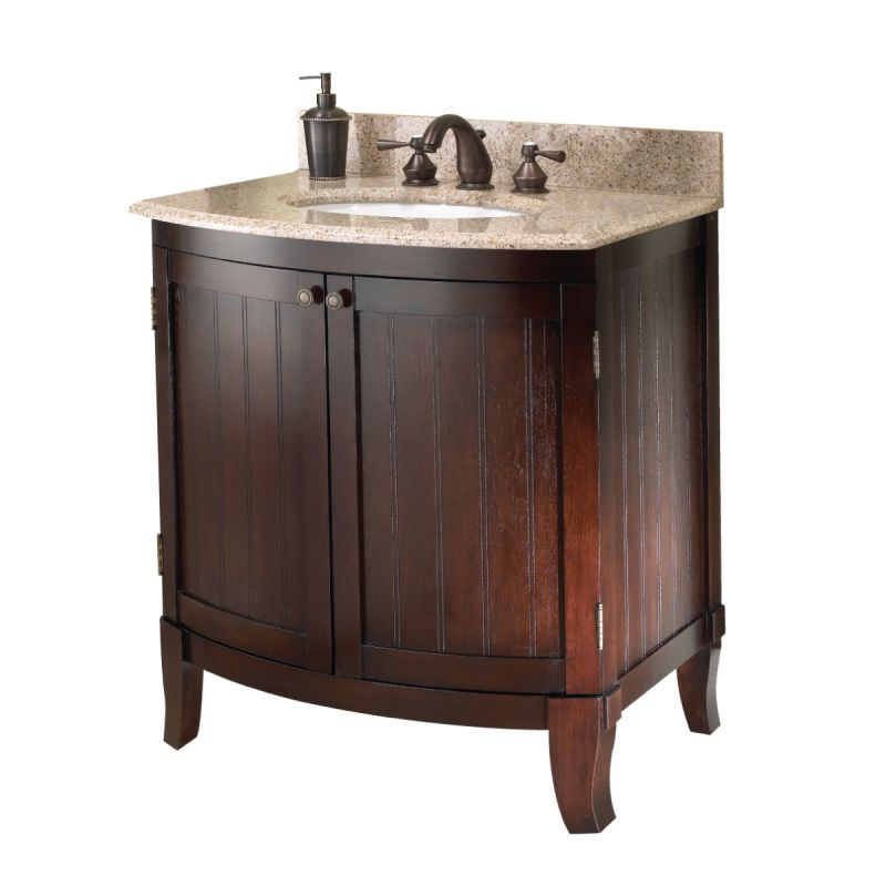 Foremost blcvt 3021 dark cherry bellani 30 bathroom for Bathroom 30 inch vanity