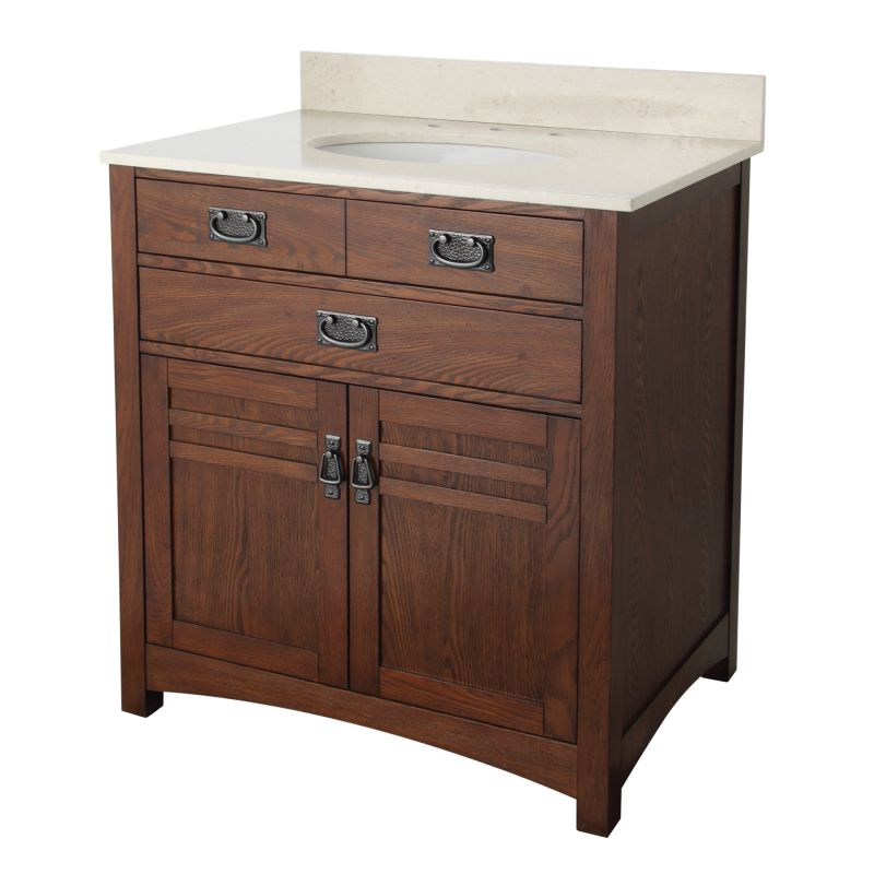 Inch bathroom vanity with top jpg cornell 30 inch bathroom vanity with - Foremost Crcvt3122 Cherry Cornell 30 Quot Bathroom Vanity With