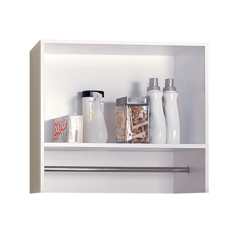 Foremost BE2712 Berkshire Laundry Room Wall Shelf 27 White Bathroom Cabinets Wall