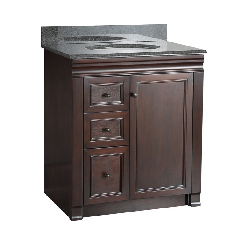 Left Side Sink Vanity : ... Shawna Bathroom Vanity 30