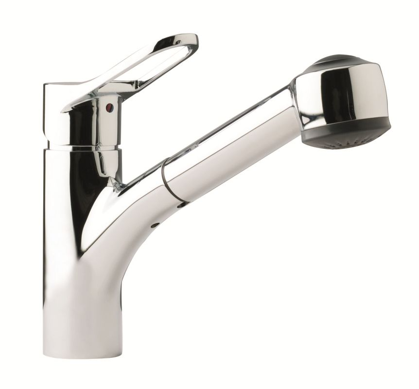 Franke Kitchen Faucet Parts : Franke FFPS200 Chrome Pullout Spray Kitchen Faucet - FaucetDirect.com