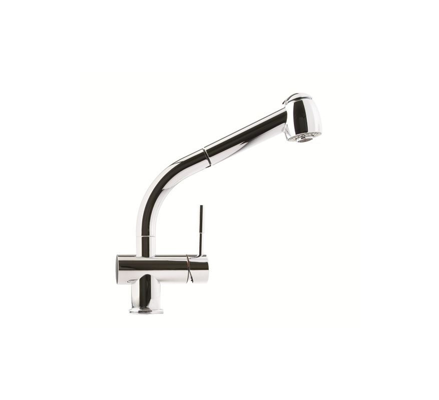Franke Kitchen Faucet Spray Head : Franke FFPS780 Satin Nickel Pullout Spray Kitchen Faucet with Dual ...