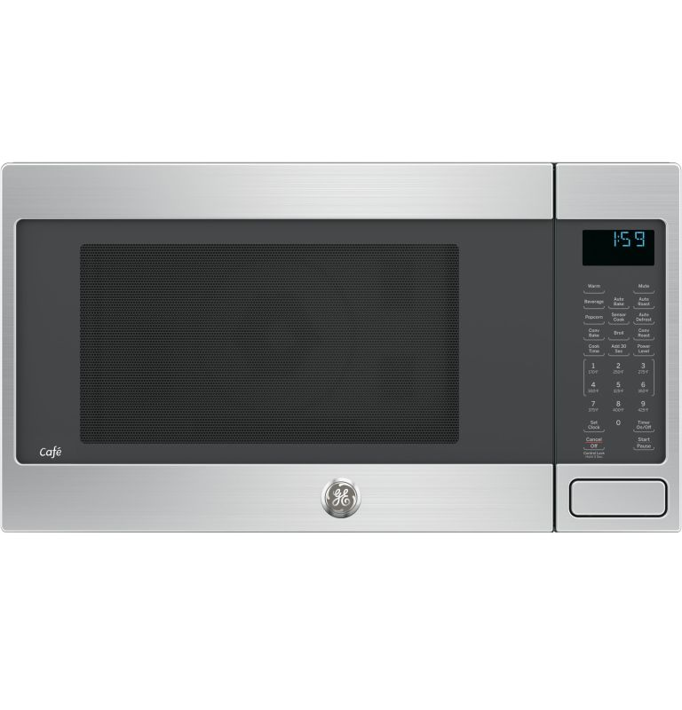 Countertop Microwave 22 Inches Wide : GE CEB1599SJ 22 Inch Wide 1.5 Cu. Ft. Convection Countertop Microwave ...
