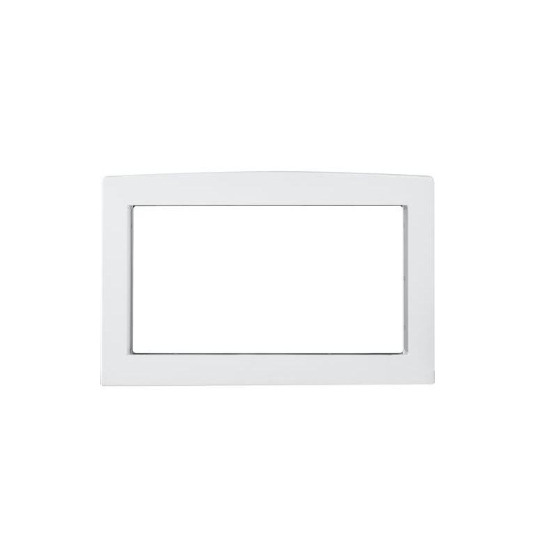 ge jx7230 30 inch wide microwave trim kit white accessory trim kit ge ...