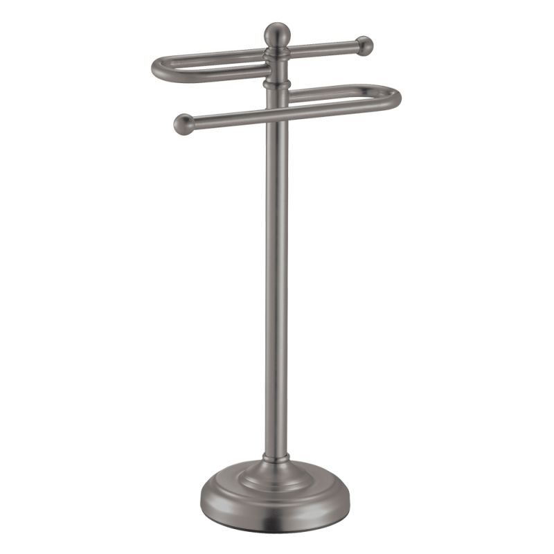 Countertop Toilet Paper Holder : ... 1547 Satin Nickel S Style Countertop Towel Holder - FaucetDirect.com