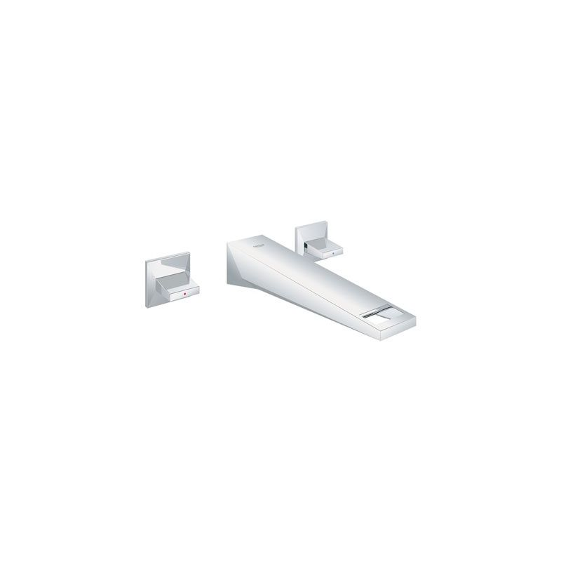 Grohe 20347000 Starlight Chrome Allure Brilliant Wall Mounted Bathroom Faucet