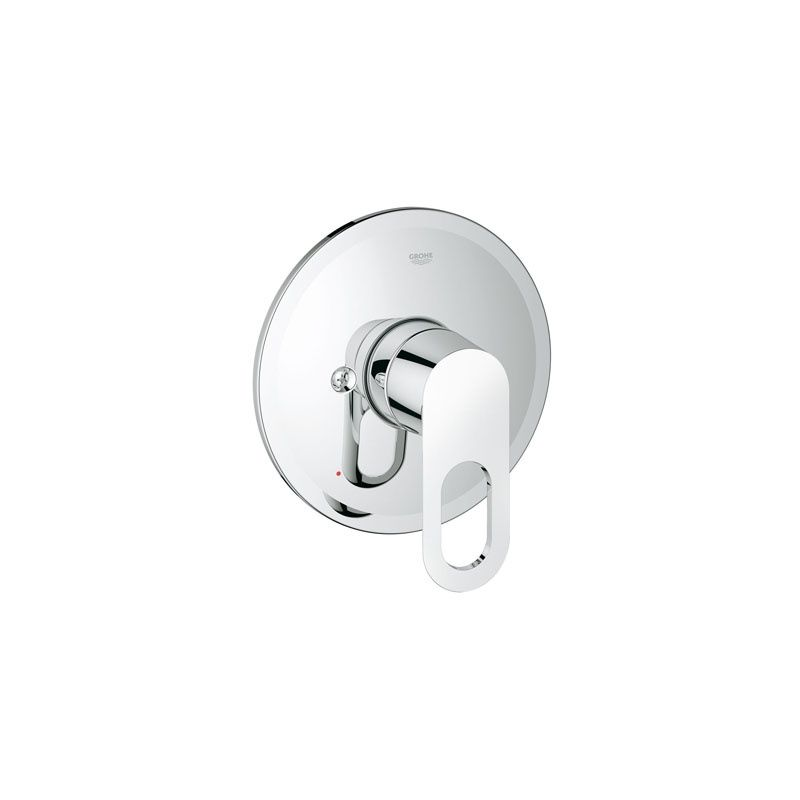 Grohe 19595000 Starlight Chrome BauLoop Valve Trim Only