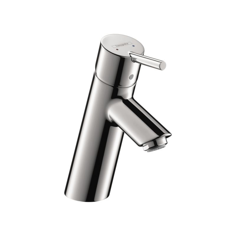 Hansgrohe 32146001 chrome talis s single hole bathroom faucet with quickclean technology less - Hansgrohe pop up drain ...