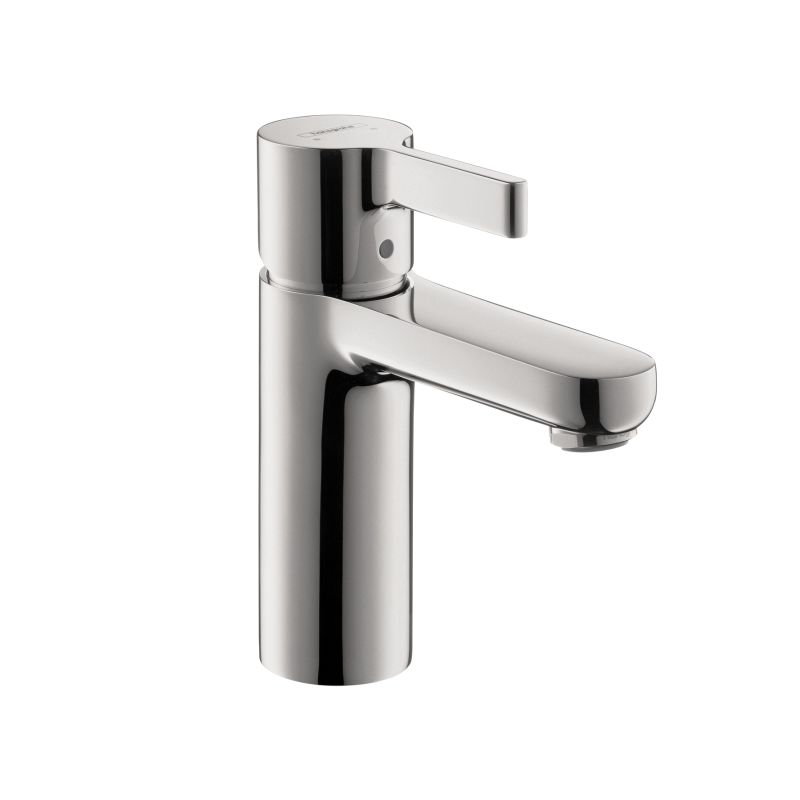 Hansgrohe 04531000 chrome metris s single hole bathroom faucet with quickclean technology less - Hansgrohe pop up drain ...