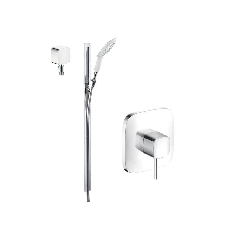 Hansgrohe Chrome PuraVida Shower Faucet With Pressure Balanced Valve Trim 36