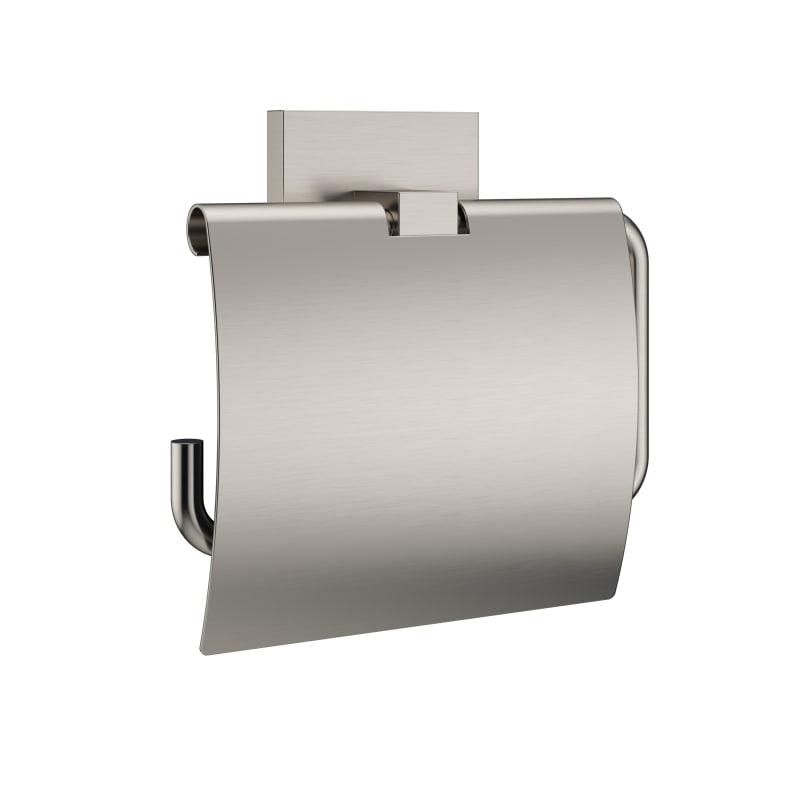 "Jacuzzi PK058 Mincio™ 4-15/16"""" Modern Tissue Holder Brushed Nickel Accessory Single Post -  PK05826"