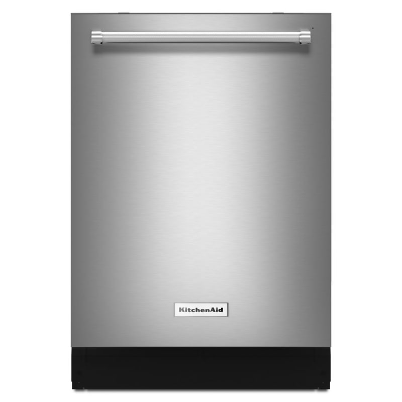 KitchenAid KDTE334G 24 Inch Wide 14 Place Setting Energy Star Rated Built-In Ful PrintShield Stainless Dishwashers Built-In -  KDTE334GPS