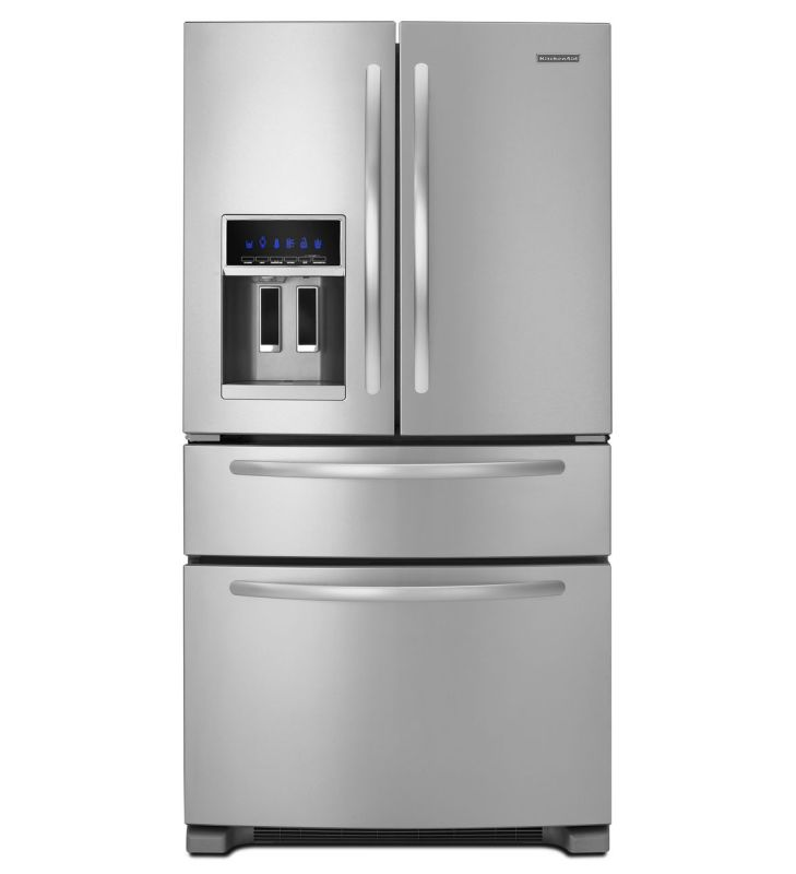 KitchenAid KFXS25RYMS Stainless Steel 36 Inch Wide 24 5 Cu Ft French Door R