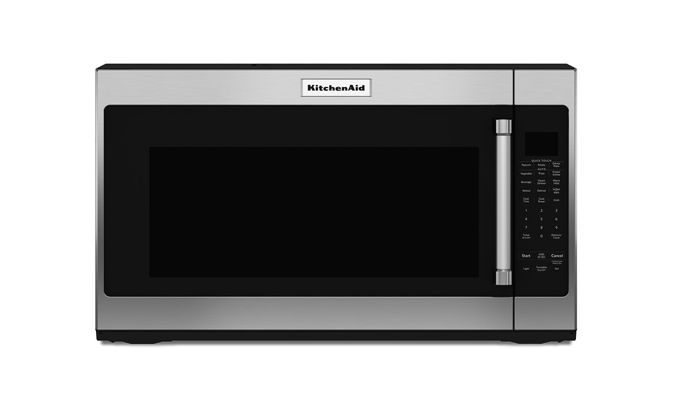 KitchenAid KMHS120E 30 Inch Wide 2.0 Cu. Ft. Over-the-Range Microwave ...