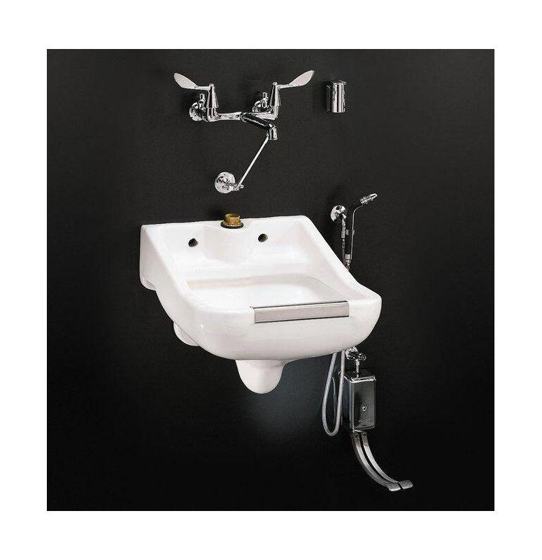 Service Sink : Kohler K-12867-0 White Camerton service sink - FaucetDirect.com