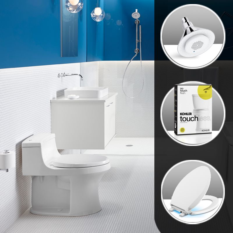 Kohler Bathroom Update Cp Polished Chrome Includes Moxie