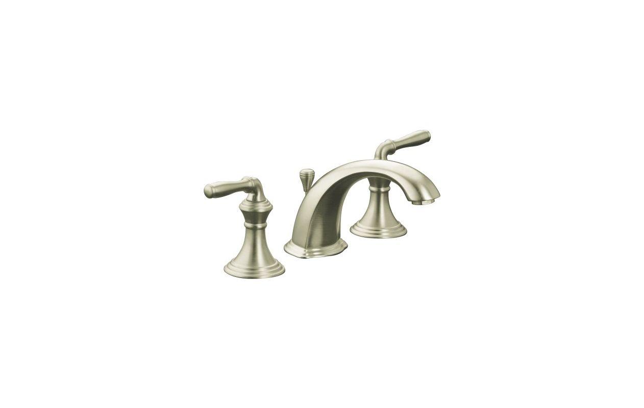 Kohler K-394-4-BN Brushed Nickel Devonshire Widespread Bathroom Faucet ...
