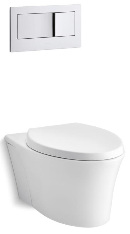Kohler K6304 Veil 16 Gpf Onepiece Elongated Toilet With