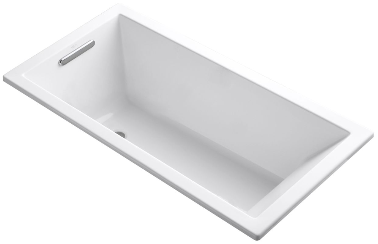 Kohler K 1121 0 White Underscore Collection 60 Drop In
