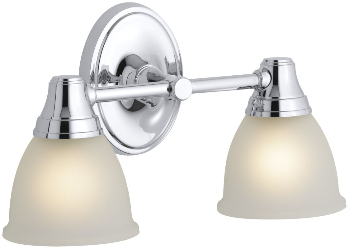 Kohler K11366 Traditional Classic Two Light Up Or Down Wall Sconce From The F Polished Chrome ...