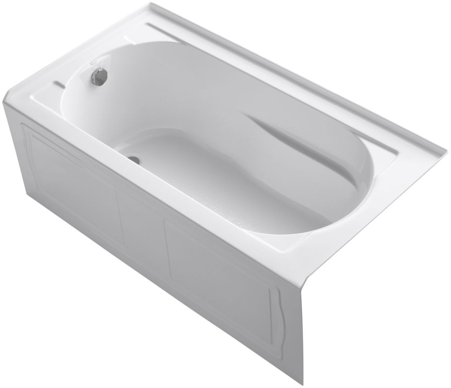 Almond Right Hand Bath Tub