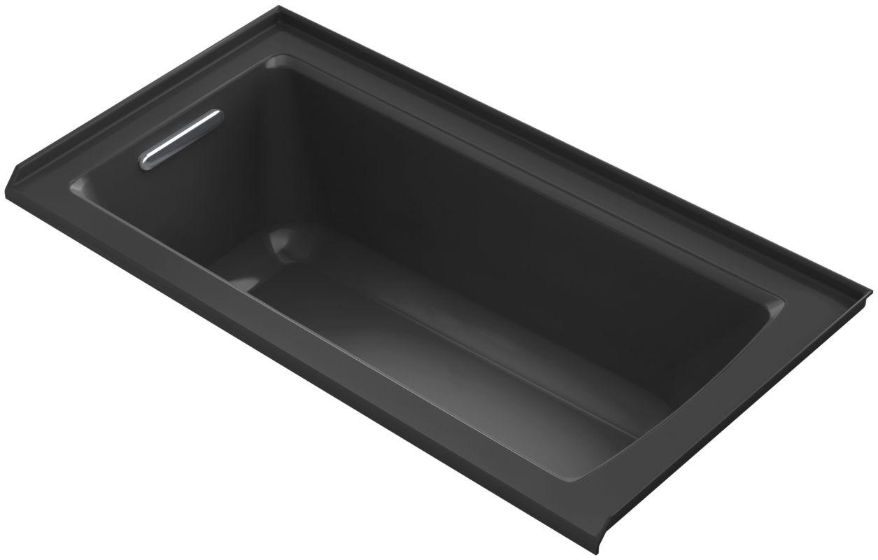 Kohler K1946l Archer Drop In Soaking Tub With Left Hand