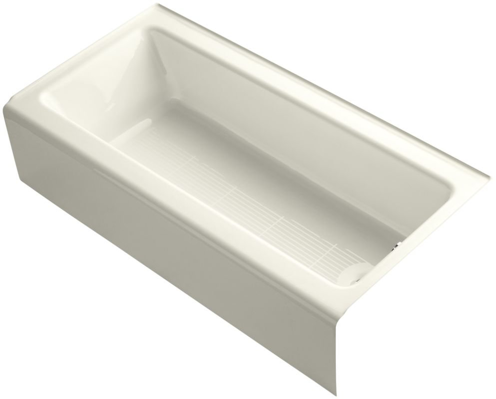 Kohler K 838 47 Almond Bellwether Bath Tub 60 Quot L X 30 1 4