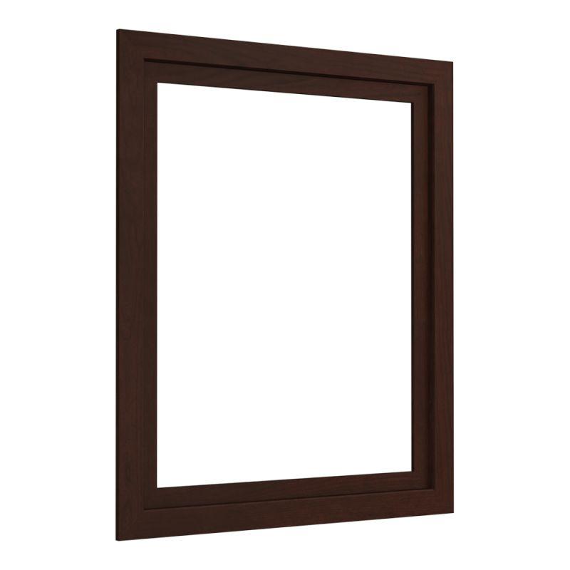 Kohler k 99663 24 1wg cherry tweed poplin wood frame for k for Wood frame medicine cabinet