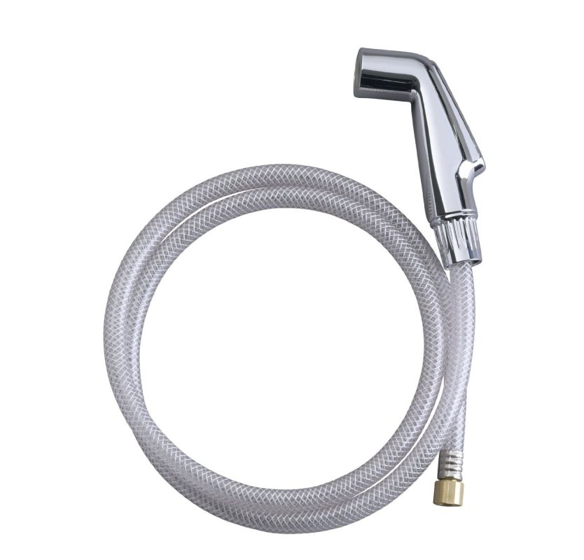kohler k gp1021724 cp polished chrome sidespray hose for