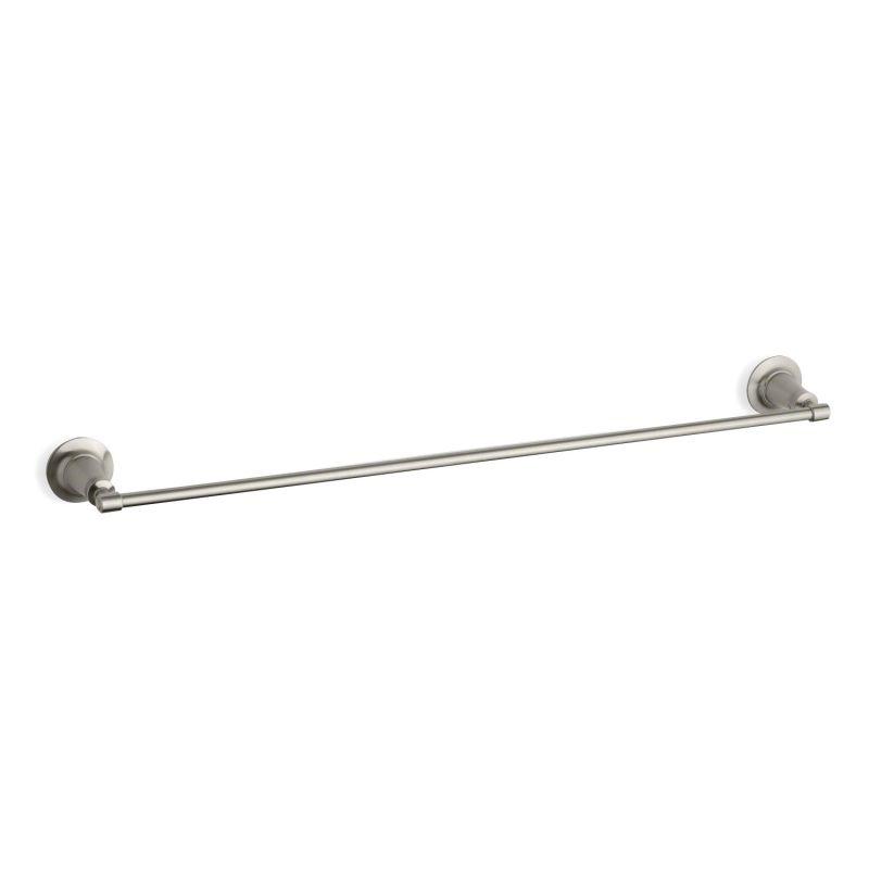 Kohler Pedestal Sink Towel Bar : Kohler K-11052-BN Brushed Nickel 30