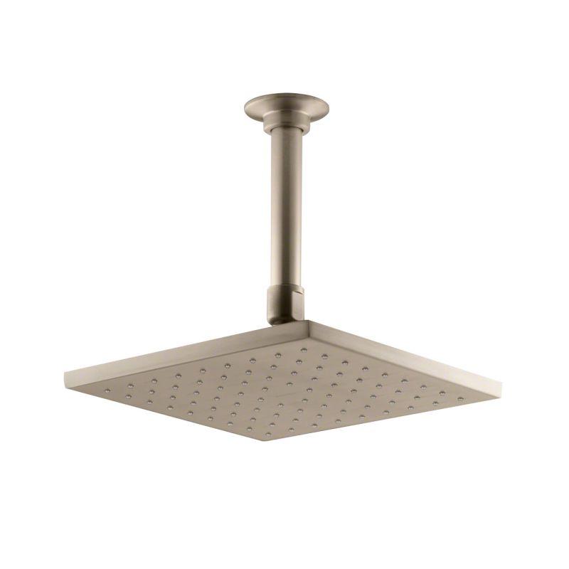 Kohler K 13695 BV Brushed Bronze 8 Contemporary Square Rain Shower Head