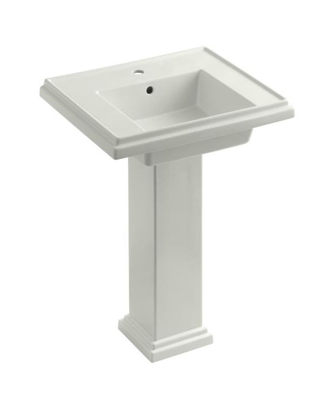 Kohler Pedestal Sink Towel Bar : Kohler K-2844-1-0 White Tresham 24