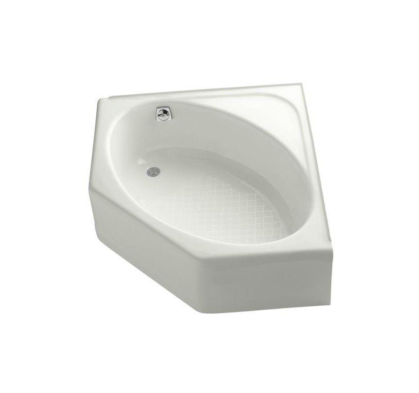 Kohler Corner Toilet : Kohler K-821-96 Biscuit Mayflower Collection 48