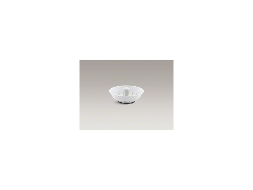 Kohler K-8803 Basket Strainer (Basket Only) from Duostrainer Series White Accessory