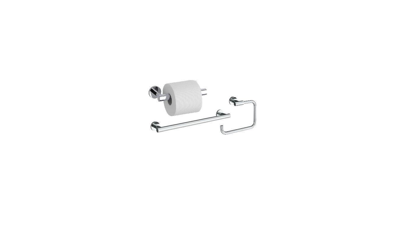Kohler Pedestal Sink Towel Bar : Kohler Stillness Good Accessory Pack 1-BN Brushed Nickel 24