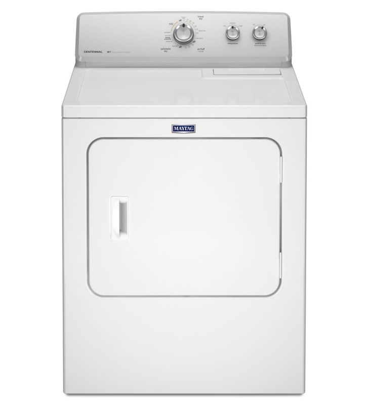 Maytag MGDC215E 29 Inch Wide 7 Cu. Ft. Gas Dryer with Maytag Commercial Technolo White Dryers Gas