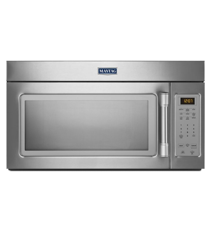 Maytag MMV1174D 220 CFM 30 Inch Wide Over the Range 1.9 Cu. Ft. Microwave with S Stainless Steel Microwave Ovens Over-the-Range