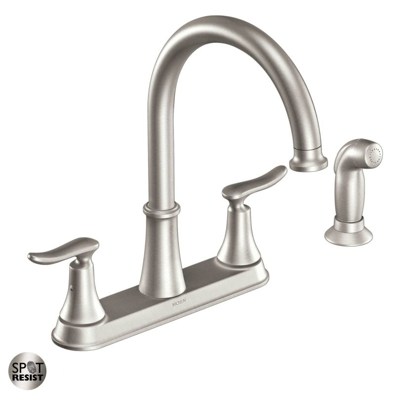 Moen Sink Faucet Home Depot Kitchen Sinks And Faucets
