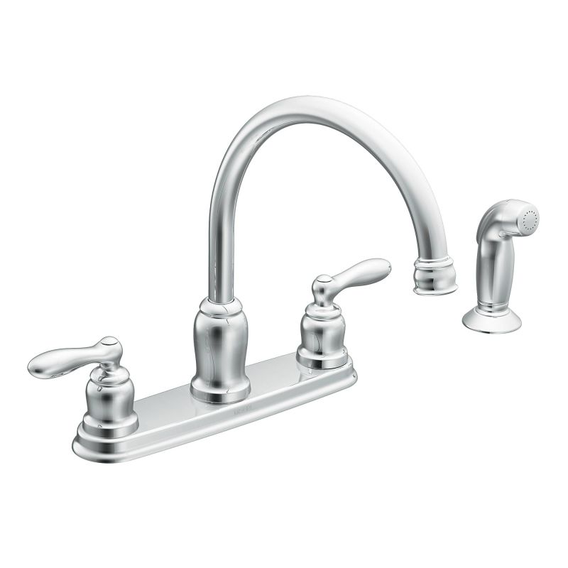 Moen Ca87888 Chrome High Arc Kitchen Faucet From The
