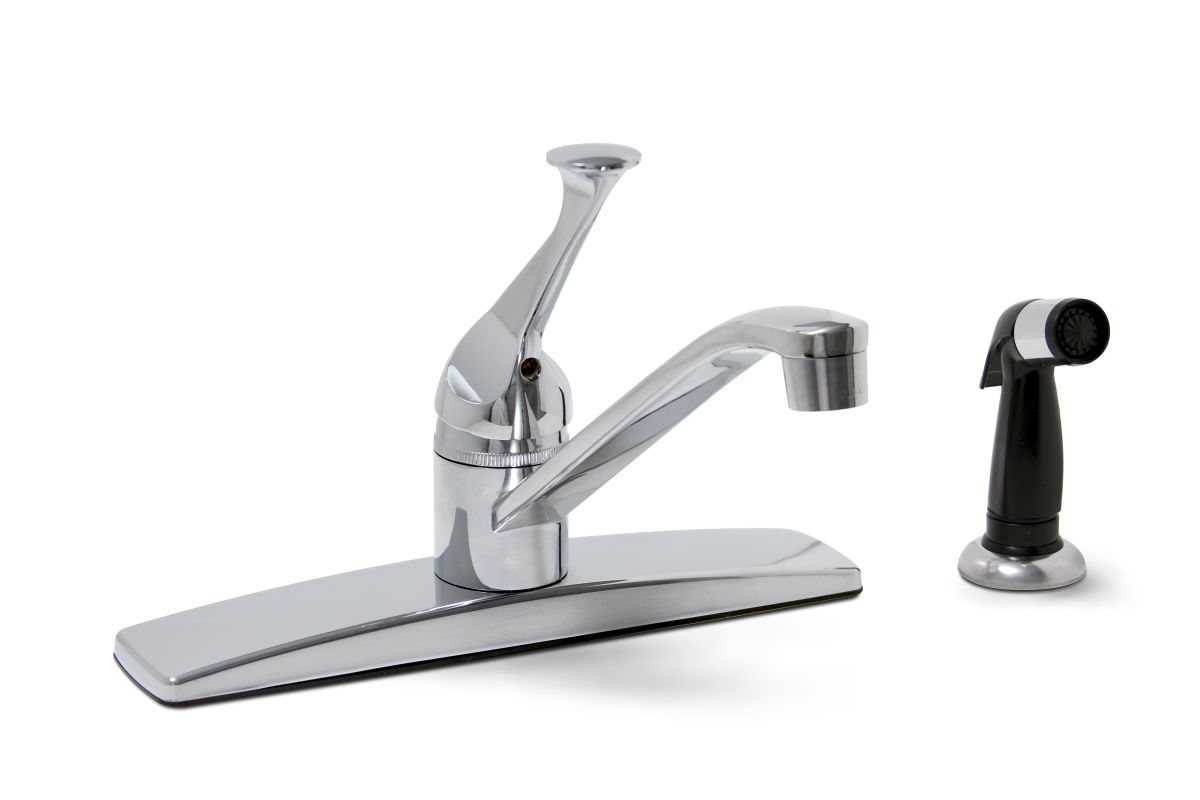 Faucet Direct : Premier 2012022LF Chrome Concord Kitchen Faucet - FaucetDirect.com