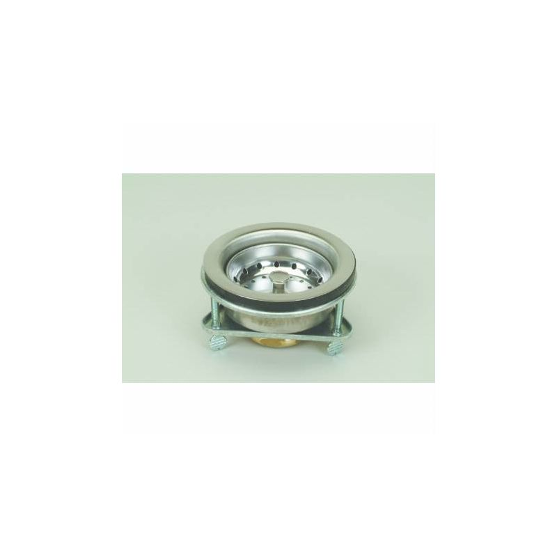 Proflo PF646443 Chrome Kitchen Sink Drain Assembly and Basket Strainer ...