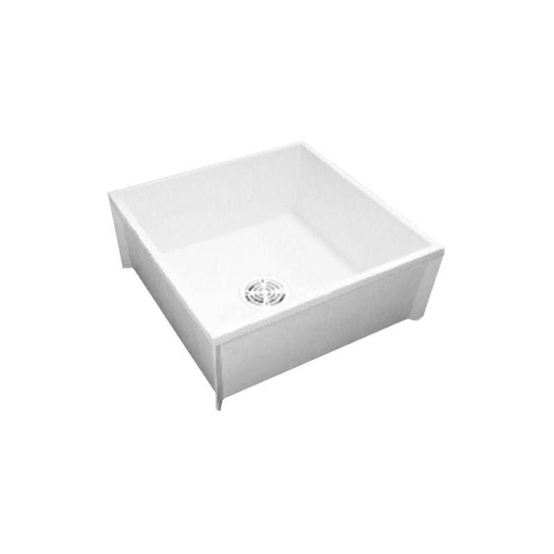 24x24 Mop Sink : Proflo PFMB2424 White 24