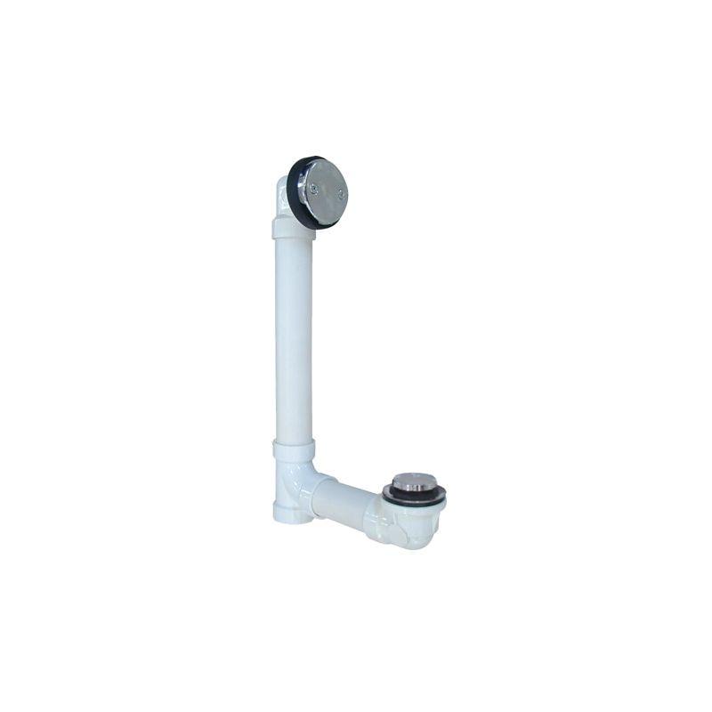 Proflo pfwo chrome quot pvc tub drain trim fitting