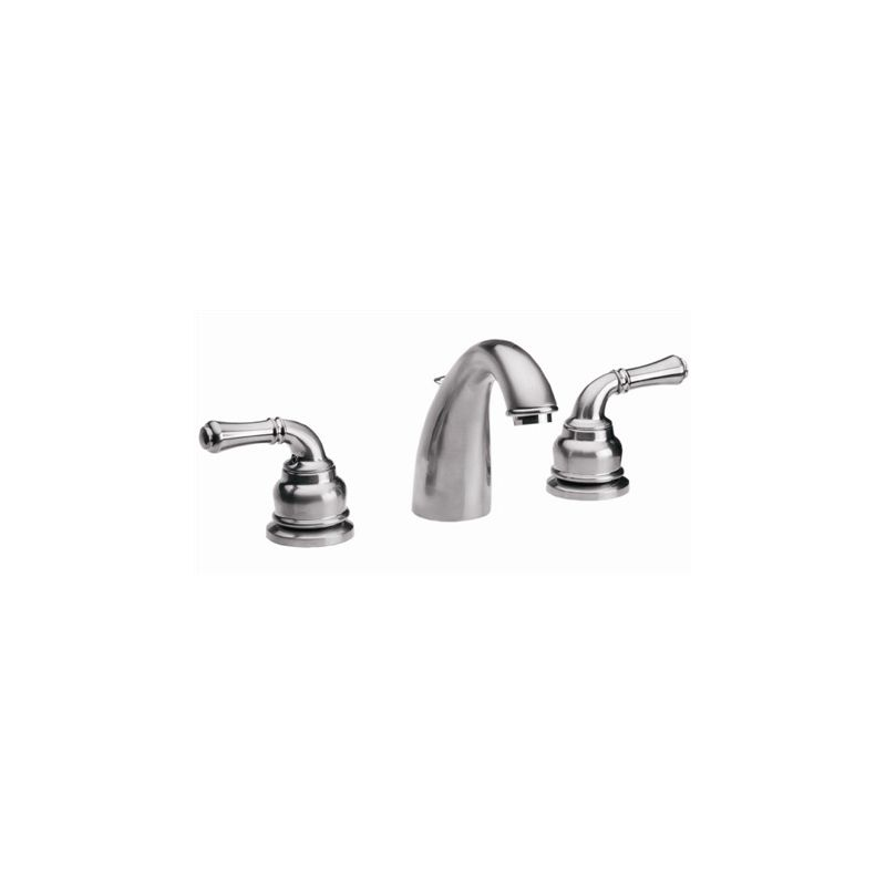 Proflo PFWS1112MBN Brushed Nickel Double Handle Widespread Bathroom Faucet Wi