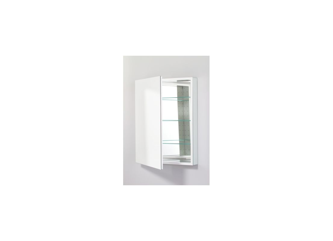 Robern Plm2430w White 23 1 4 Reversible Hinged Single