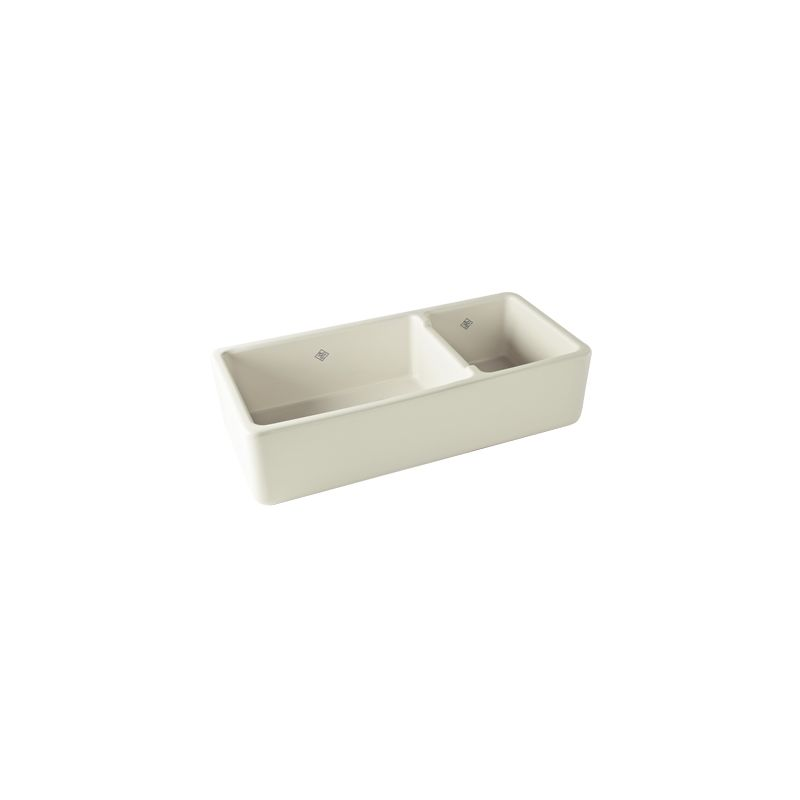 Rohl Farmhouse Sink : Rohl RC4019PCT Parchment Shaws 40