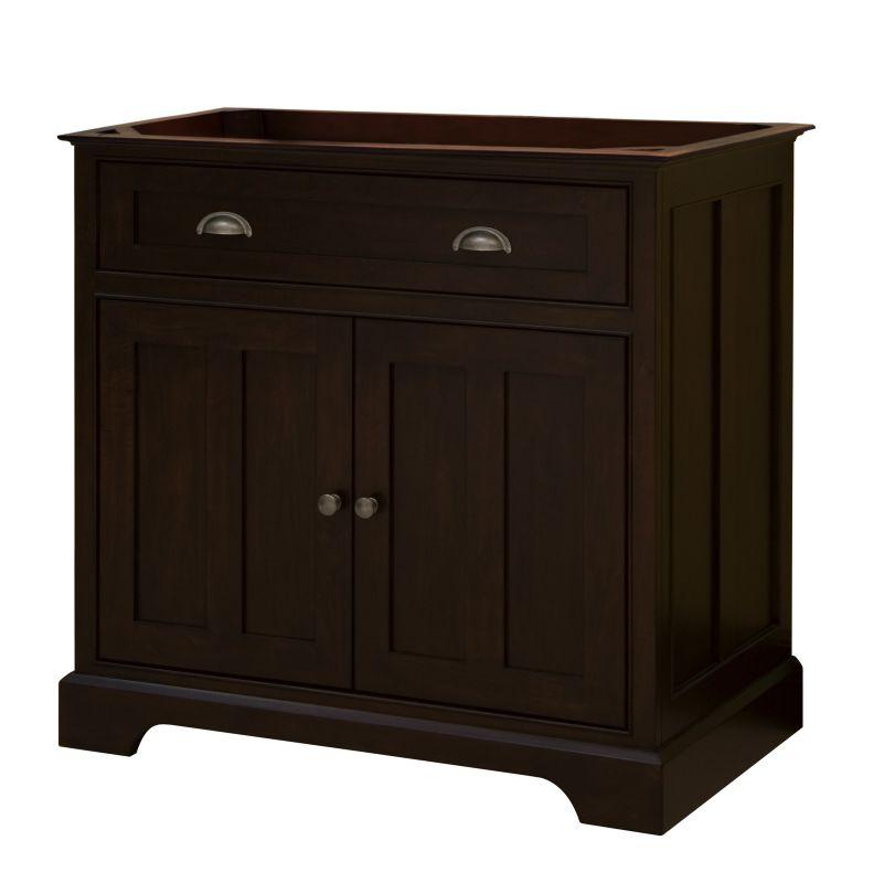 Sagehill designs ss3621d rich somerset 36 vanity cabinet for Sagehill designs bathroom vanity