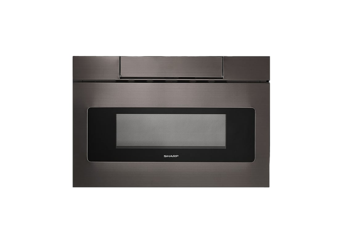 Black sharp microwave usa for 24 inch built in microwave stainless steel