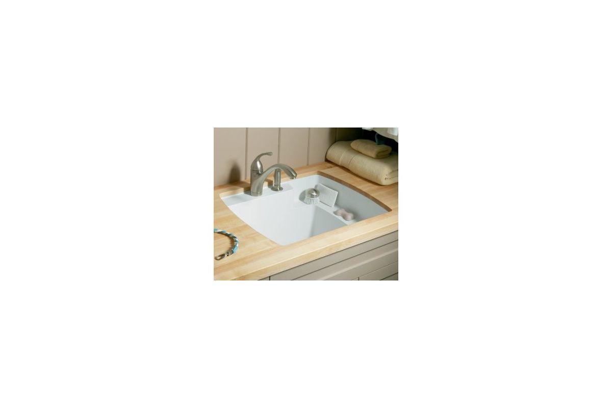 ... Vikrell Undermount Utility Sink, 25