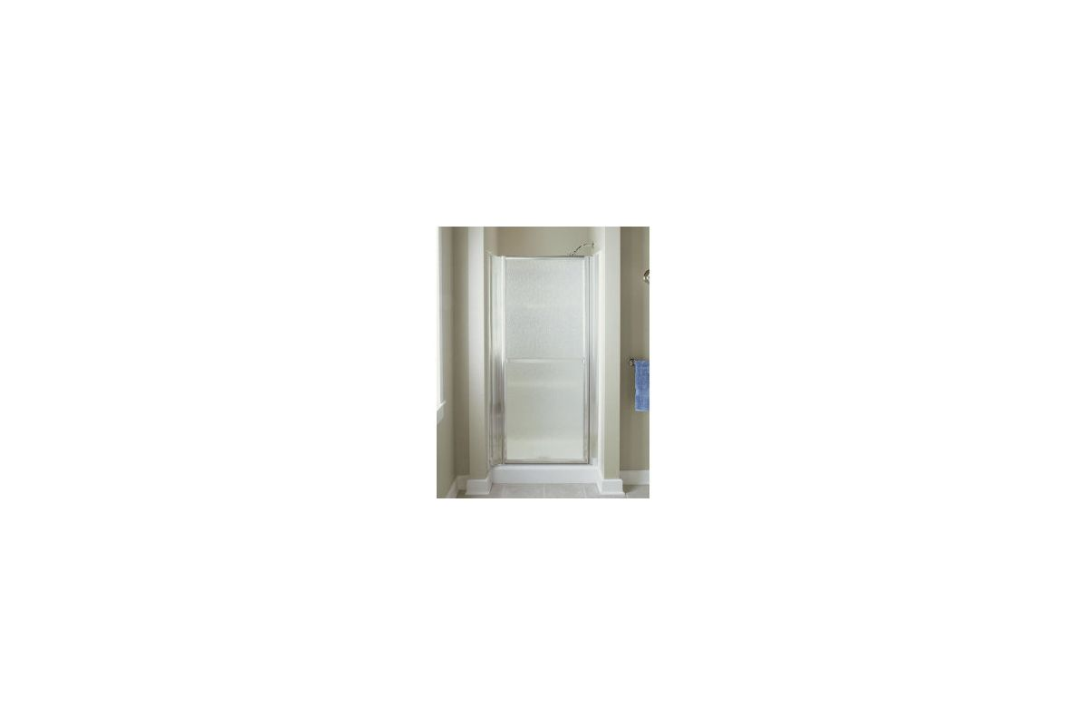 Sterling 6506 36s silver showers shower doors swing from the finesse